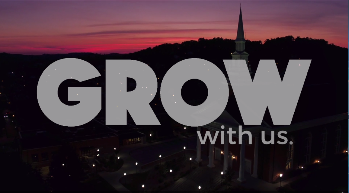 Grow with us.